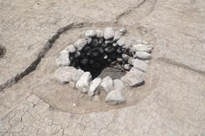 室町~戦国時代の井戸跡