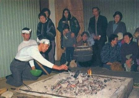 高岡の小豆焼き行事